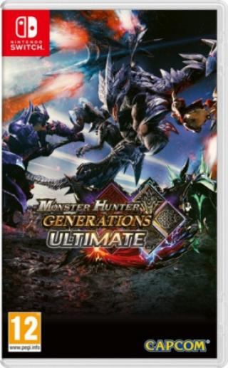 SWITCH Monster Hunter Generations Ultimate,