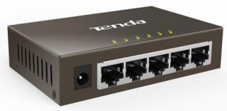 Switch Tenda TEF1005D šedý