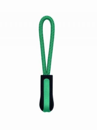 Taháček na zip Kariban 4 ks - černý-zelený