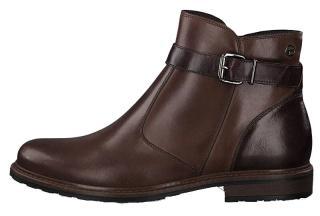 Tamaris Dámské kotníkové boty 1-1-25004-23-313 Muscat/Bord 38