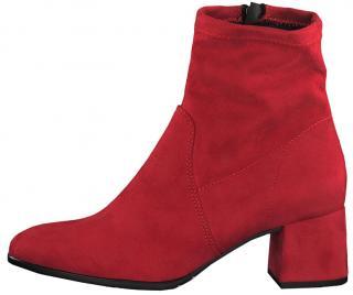 Tamaris Dámské kotníkové boty 1-1-25061-23-515 Lipstick 40