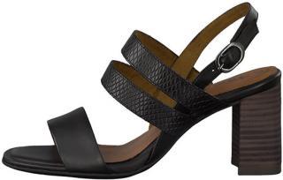 Tamaris Dámské sandále 1-1-28317-24-021 Blk Lea/Snake 40