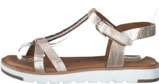 Tamaris dámské sandály 28600 40 zlatá - zánovní