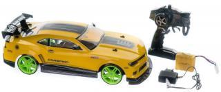 Teddies Auto RC drift žluté 40cm, 27MHz - rozbaleno
