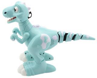 Teddies Dinosaurus RC chodící a tancující 30cm