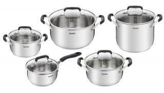 Tefal Sada nádobí 10ks Cook&Cool E493SA74 - rozbaleno