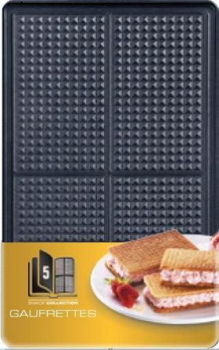 Tefal XA 8005 ACC Snack Collection Waffers Box - rozbaleno