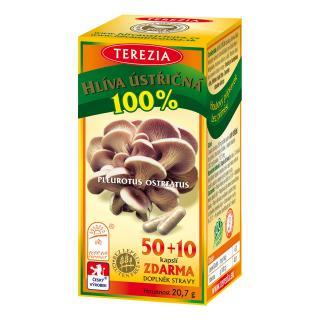 Terezia Hlíva ústřičná 50 10 kapslí