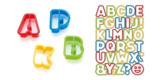 Tescoma vykrajovátka abeceda DELÍCIA KIDS, 34 ks