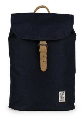 The Pack Society unisex tmavě modrý batoh - rozbaleno