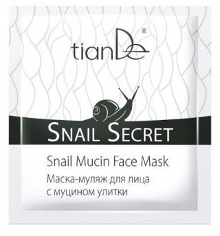 TianDe Maska na obličej s mucinem šneka 1ks