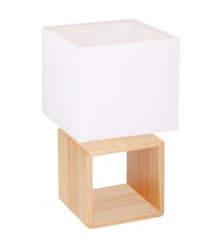 TimeLife Stolní lampa, dřevěná - rozbaleno