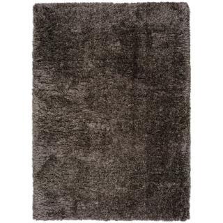 Tmavě šedý koberec Universal Floki Liso, 160 x 230 cm
