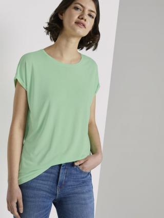 Tom Tailor Denim dámské tričko 1018053/21562 Zelená M
