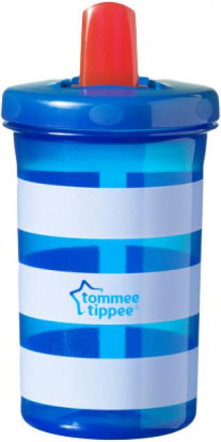 TOMMEE TIPPEE Hrnek Free Flow Supper Sipper 300 ml  – modrý