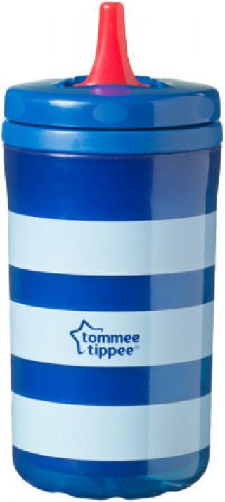 TOMMEE TIPPEE Termohrnek Free Flow Cool Cup 380 ml  – modrý