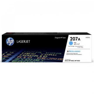Toner HP 207A, 1250 stran - modrý, W2211A