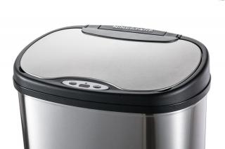 Toro Koš se senzorem na tříděný odpad, nerez, 50 l - rozbaleno