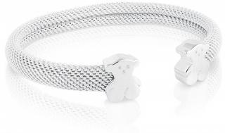 Tous Pevný stříbrný náramek s medvídky 711900031-S - stříbro 925/1000 19 g   obecný kov 3 g