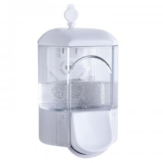 Transparentní dávkovač na mýdlo 350 ml