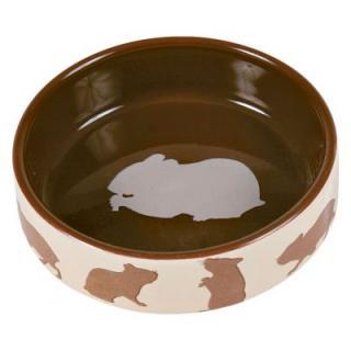 Trixie keramická miska pro hlodavce - pro králíky, 250 ml, Ø 11 cm
