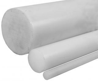 Tyč silonová PA 6 bílá - 60mm