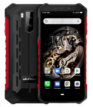 UleFone Armor X5 2020 DS 3 32GB gsm tel. Red
