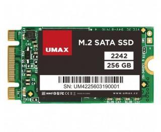 UMAX SSD 256GB/ interní/ M.2/ 2242/ SATAIII/ 3D TLC, UMM250002