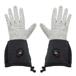 Univerzální vyhřívané rukavice Glovii GEG černo-šedá - S-M