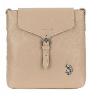 U.S. Polo Assn. crossbody kabelka Manhattan Crossbody w/flap béžová