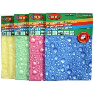 Utěrky z mikrovlákna Colour Bubbles