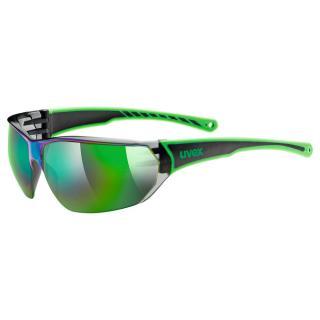 Uvex Sportstyle 204 Black Green