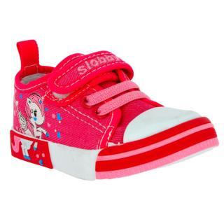 V J dětská obuv 130-0020-T1 pink 19 růžová - zánovní