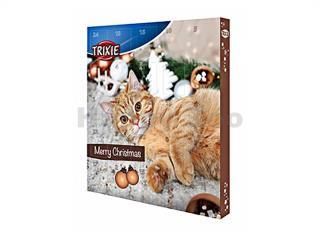 Vánoční adventní kalendář TRIXIE pro kočky 380g