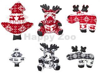 Vánoční hračka TRIXIE plyš - sob/vánoční strom 20cm
