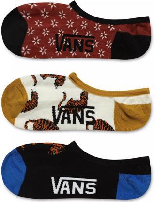 VANS 3 PACK - dámské kotníkové ponožky TIGER FLORAL CANOODLES 31,5-36