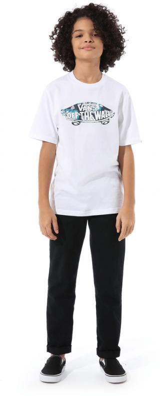 Vans chlapecké tričko L bílá