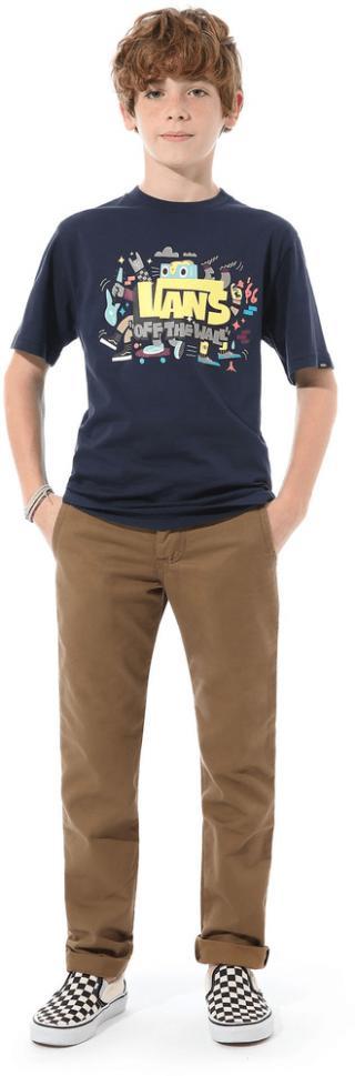 Vans chlapecké tričko L modrá