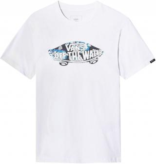 Vans chlapecké tričko S bílá