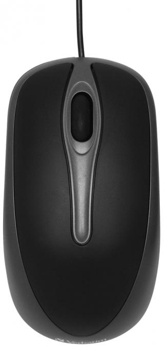 Verbatim optická myš, černá  - rozbaleno