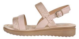 Verde Dámské sandále 28-3033 Nude 41