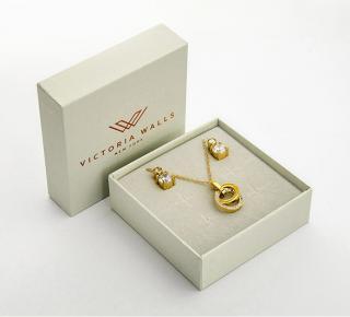 Victoria Walls Souprava náušnic a náhrdelníku VS1087G
