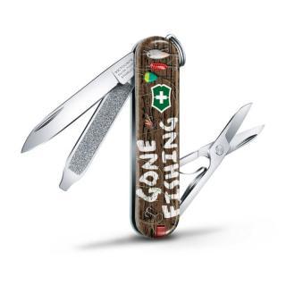 Victorinox nůž Classic Gone Fishing - rozbaleno