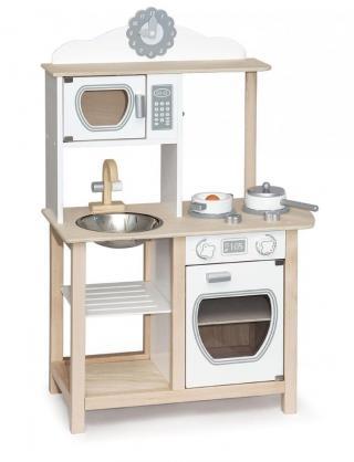 Viga Dřevěná moderní kuchyňka - rozbaleno