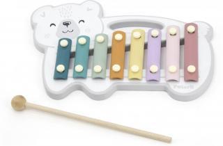 Viga Dřevěný xylofon polární medvěd