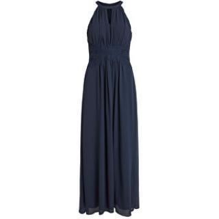 Vila Dámské šaty VIMILINA HALTERNECK MAXI DRESS - NOOS Total Eclipse 36