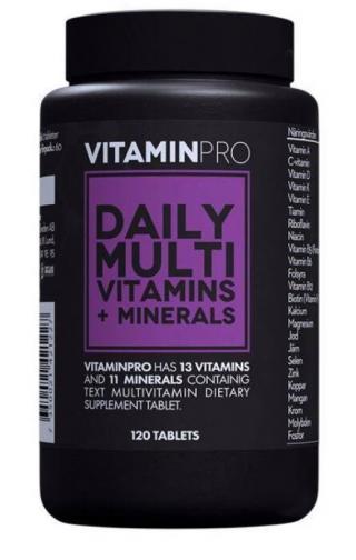 VitaminPro multivitamíny 120cps