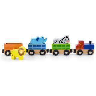 Vlaková souprava - Divoká zvířata