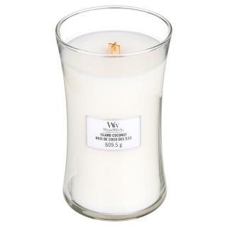 Vonná svíčka WoodWick, 609,5 g - Island Coconut
