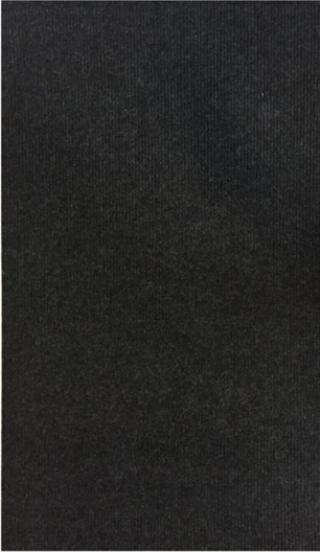 Vopi koberce Běhoun na míru Polo - šíře 50 cm Černá
